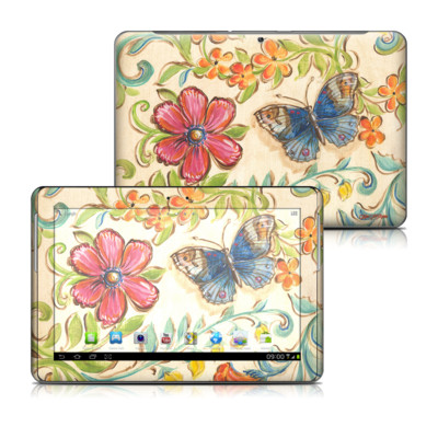 Samsung Galaxy Tab 2 10-1 Skin - Garden Scroll