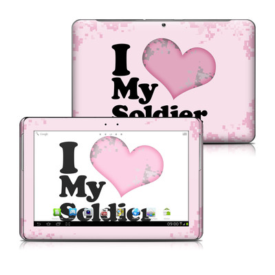 Samsung Galaxy Tab 2 10-1 Skin - I Love My Soldier