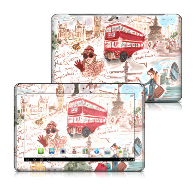 Samsung Galaxy Tab 2 10-1 Skin - London