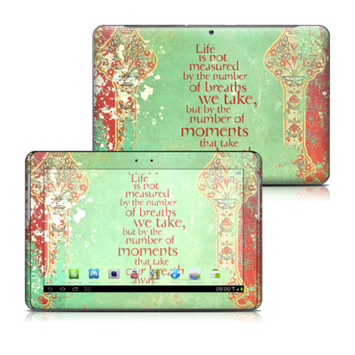 Samsung Galaxy Tab 2 10-1 Skin - Measured