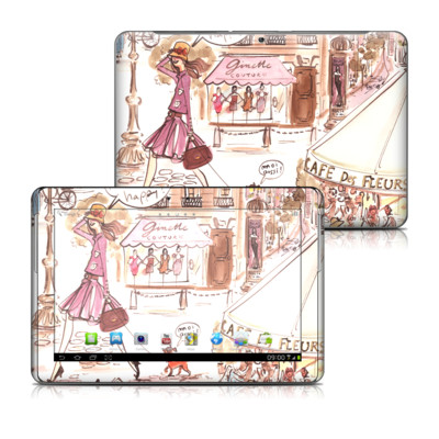 Samsung Galaxy Tab 2 10-1 Skin - Paris Makes Me Happy