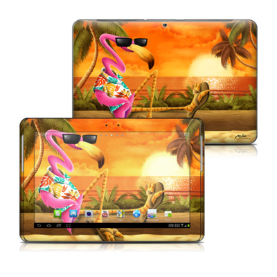 Samsung Galaxy Tab 2 10-1 Skin - Sunset Flamingo