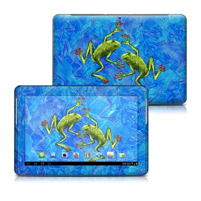 Samsung Galaxy Tab 2 10-1 Skin - Tiger Frogs