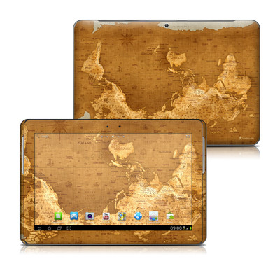 Samsung Galaxy Tab 2 10-1 Skin - Upside Down Map