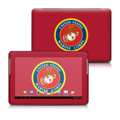 Samsung Galaxy Tab 2 10-1 Skin - USMC Red