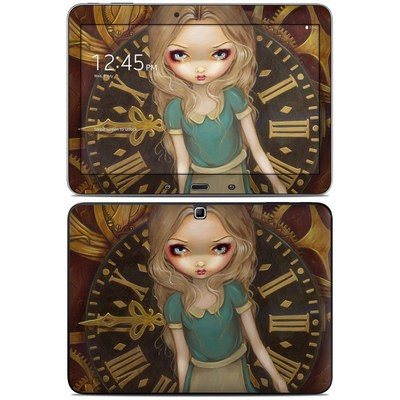 Samsung Galaxy Tab 4 10.1in Skin - Alice Clockwork