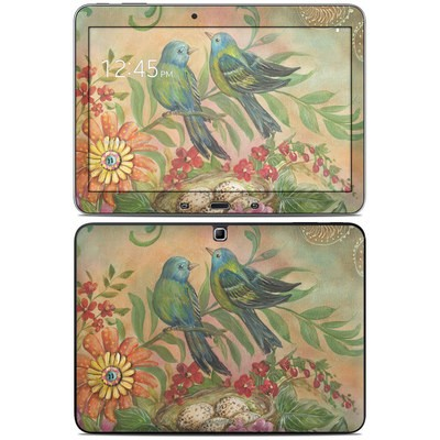 Samsung Galaxy Tab 4 10.1in Skin - Splendid Botanical