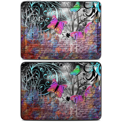 Samsung Galaxy Tab 4 10.1in Skin - Butterfly Wall