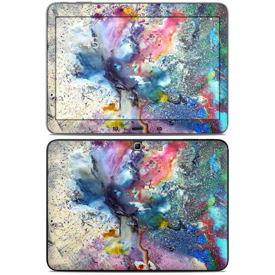 Samsung Galaxy Tab 4 10.1in Skin - Cosmic Flower