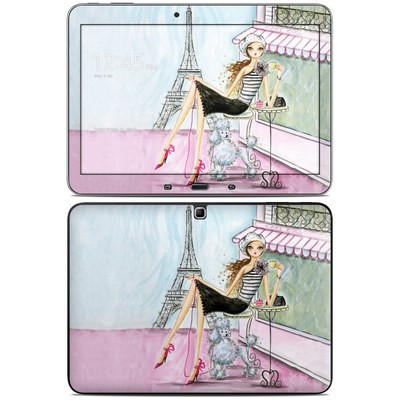 Samsung Galaxy Tab 4 10.1in Skin - Cafe Paris