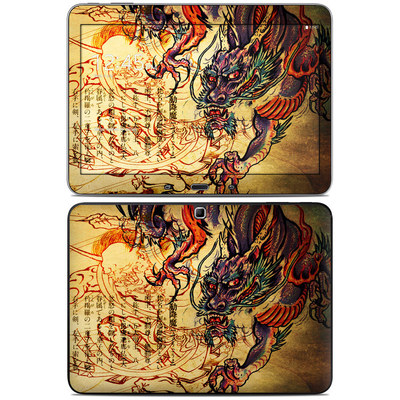 Samsung Galaxy Tab 4 10.1in Skin - Dragon Legend
