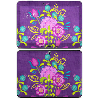 Samsung Galaxy Tab 4 10.1in Skin - Floral Bouquet
