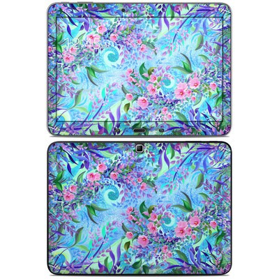 Samsung Galaxy Tab 4 10.1in Skin - Lavender Flowers