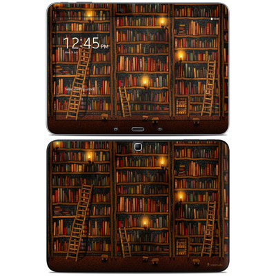 Samsung Galaxy Tab 4 10.1in Skin - Library