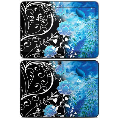 Samsung Galaxy Tab 4 10.1in Skin - Peacock Sky