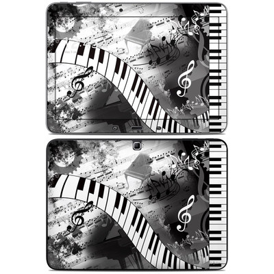 Samsung Galaxy Tab 4 10.1in Skin - Piano Pizazz