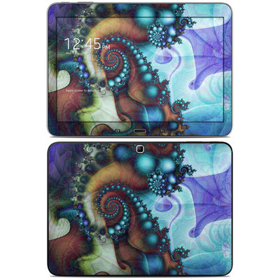 Samsung Galaxy Tab 4 10.1in Skin - Sea Jewel