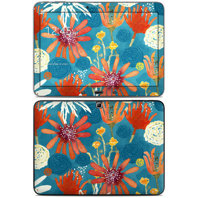 Samsung Galaxy Tab 4 10.1in Skin - Sunbaked Blooms