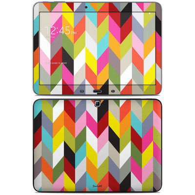 Samsung Galaxy Tab 4 10.1in Skin - Ziggy Condensed