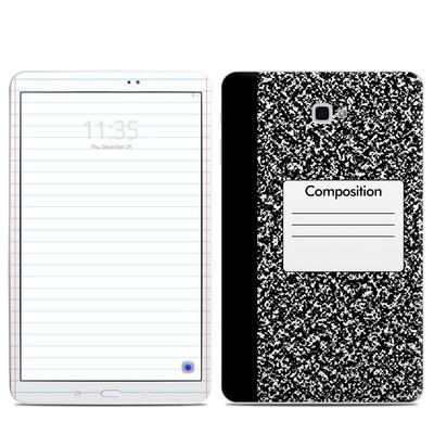 Samsung Galaxy Tab A Skin - Composition Notebook