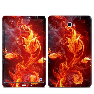 Samsung Galaxy Tab A Skin - Flower Of Fire
