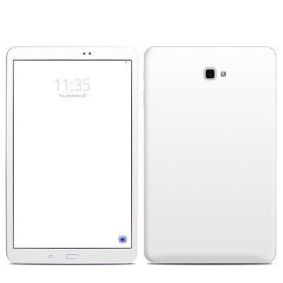 Samsung Galaxy Tab A Skin - Solid State White