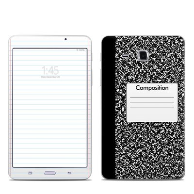 Samsung Galaxy Tab A 7in Skin - Composition Notebook