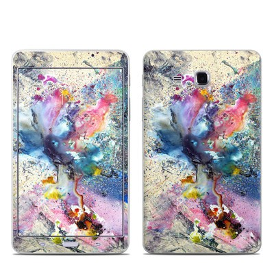 Samsung Galaxy Tab A 7in Skin - Cosmic Flower