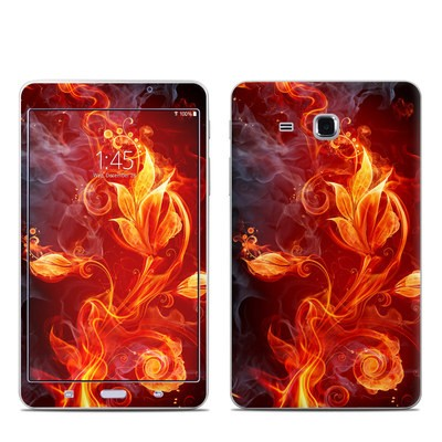 Samsung Galaxy Tab A 7in Skin - Flower Of Fire
