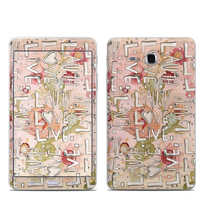 Samsung Galaxy Tab A 7in Skin - Love Floral
