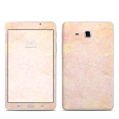 Samsung Galaxy Tab A 7in Skin - Rose Gold Marble