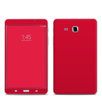 Samsung Galaxy Tab A 7in Skin - Solid State Red