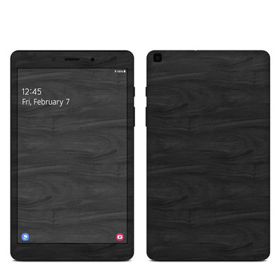Samsung Galaxy Tab A 8in 2019 Skin - Black Woodgrain