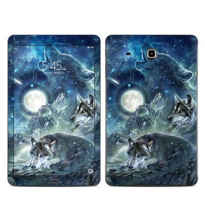 Samsung Galaxy Tab E Skin - Bark At The Moon