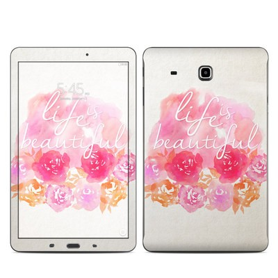 Samsung Galaxy Tab E Skin - Beautiful