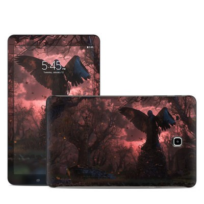 Samsung Galaxy Tab E Skin - Black Angel