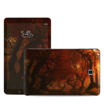Samsung Galaxy Tab E Skin - Canopy Creek Autumn