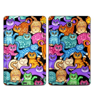 Samsung Galaxy Tab E Skin - Colorful Kittens