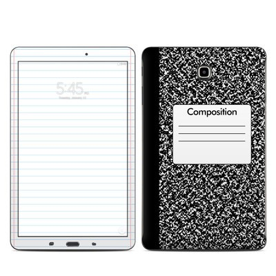 Samsung Galaxy Tab E Skin - Composition Notebook
