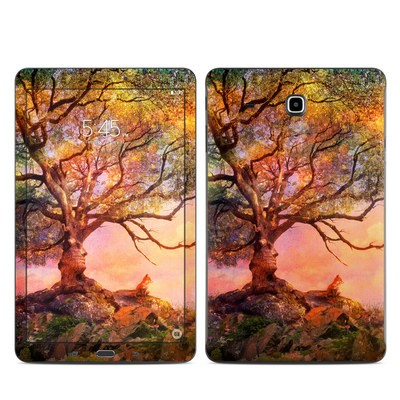 Samsung Galaxy Tab E Skin - Fox Sunset