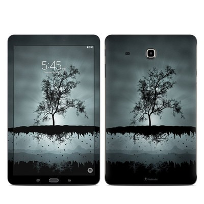 Samsung Galaxy Tab E Skin - Flying Tree Black