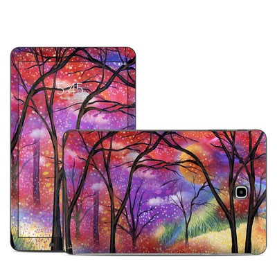 Samsung Galaxy Tab E Skin - Moon Meadow