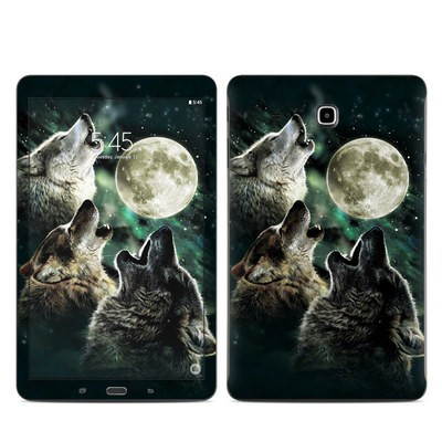 Samsung Galaxy Tab E Skin - Three Wolf Moon