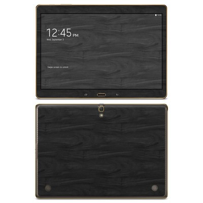 Samsung Galaxy Tab S 10.5in Skin - Black Woodgrain