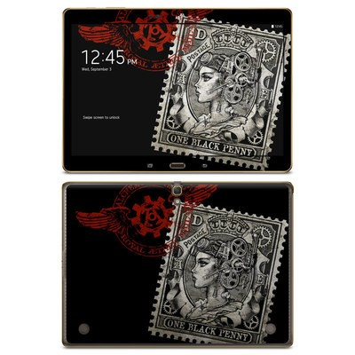 Samsung Galaxy Tab S 10.5in Skin - Black Penny