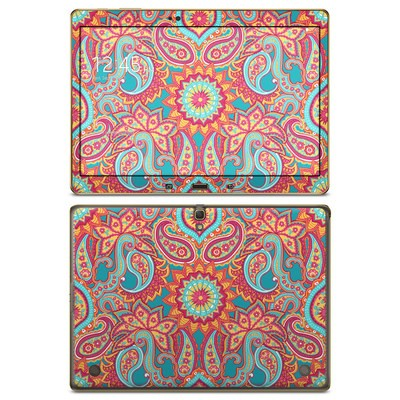 Samsung Galaxy Tab S 10.5in Skin - Carnival Paisley