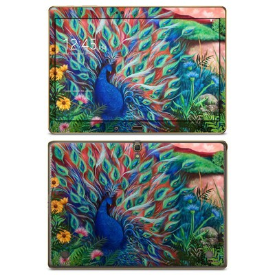 Samsung Galaxy Tab S 10.5in Skin - Coral Peacock