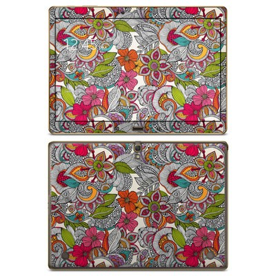 Samsung Galaxy Tab S 10.5in Skin - Doodles Color