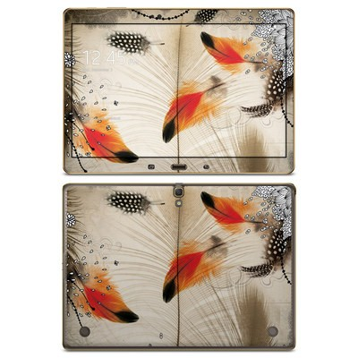 Samsung Galaxy Tab S 10.5in Skin - Feather Dance