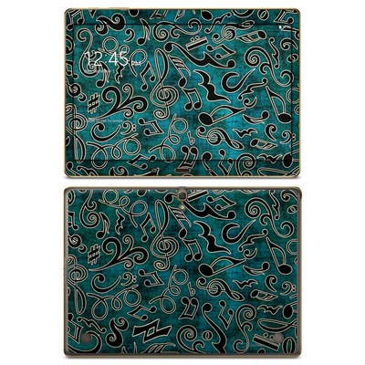 Samsung Galaxy Tab S 10.5in Skin - Music Notes